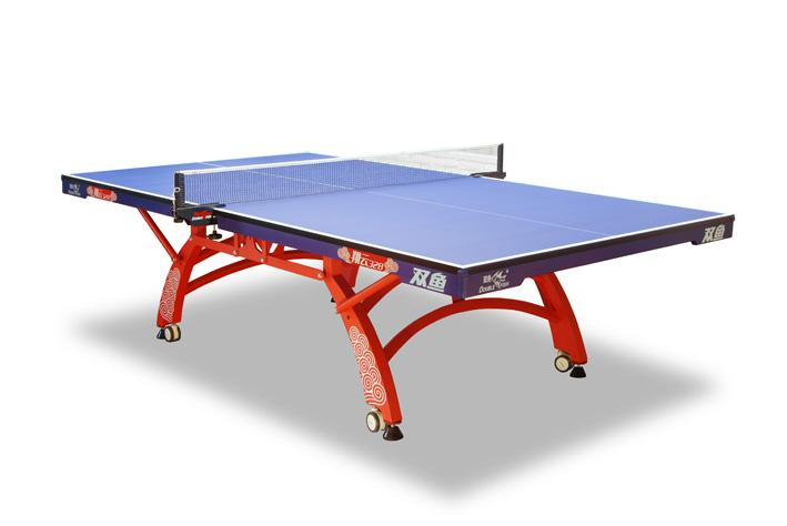 Elegant Description: Blue Table Top And Orange Base. Recommended For International  Tournaments. Dimensions:5u0027 X 9u0027 Number Of Packages: 3. Price: (New Only   2  Left) ...